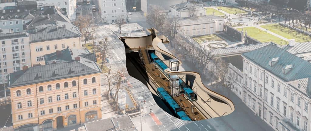 Projektwebseite: Aus Salzburg.Regional.Stadt.Bahn wird S-LINK