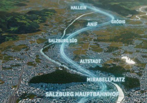 S-LINK Streckenvisualisierung